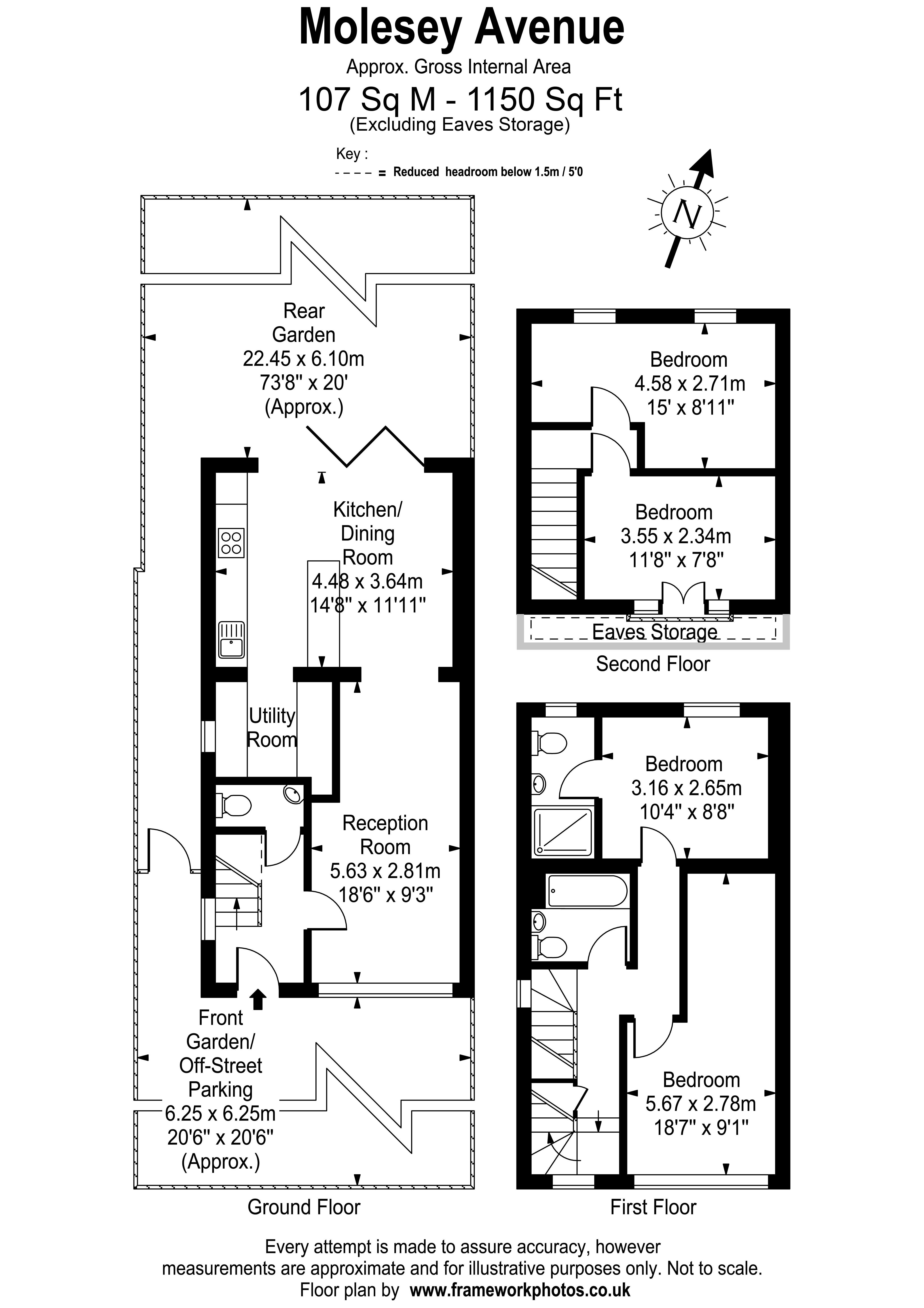 Floorplans For Molesey Avenue, West Molesey
