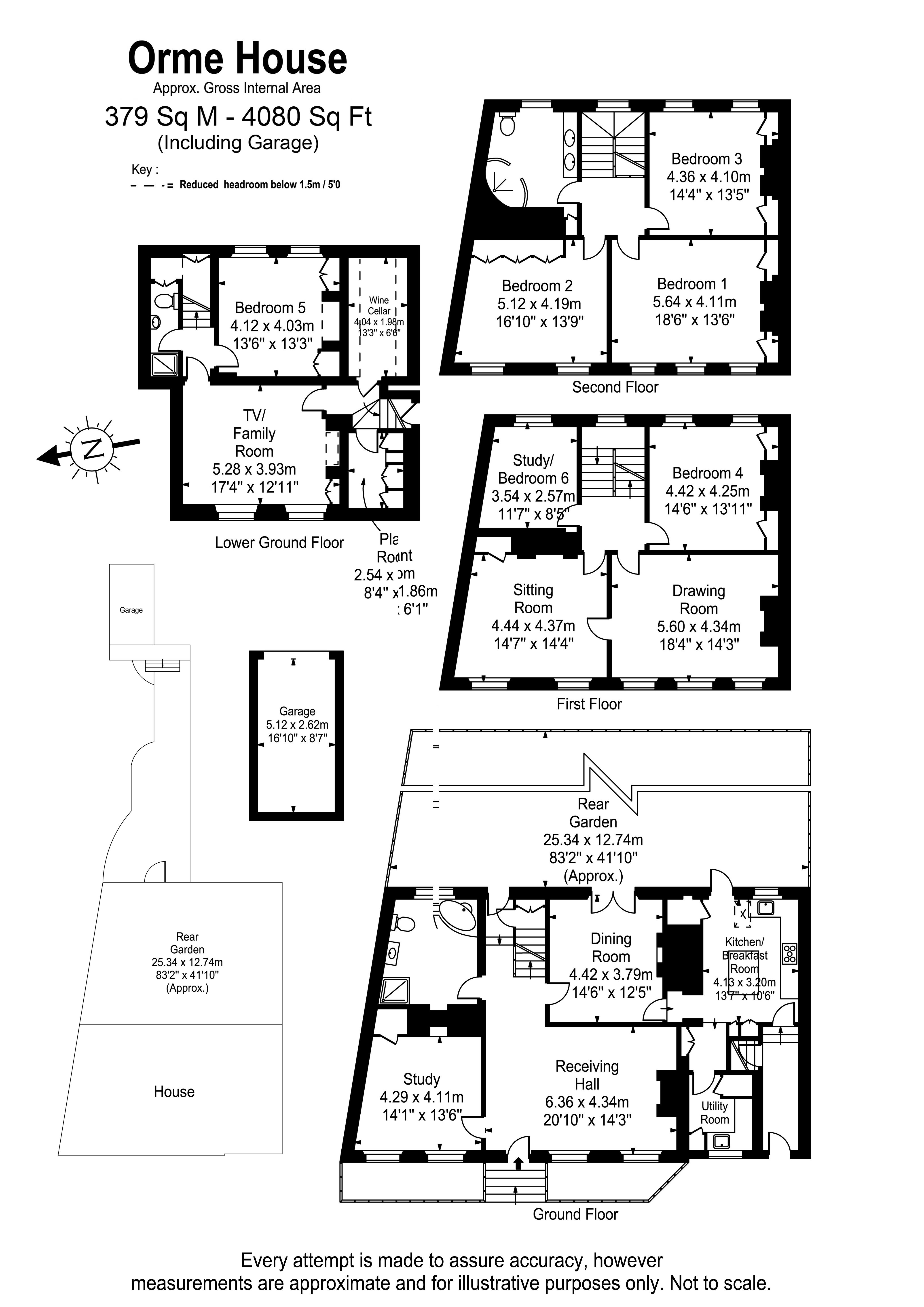 Floorplans For Orme House, Hampton