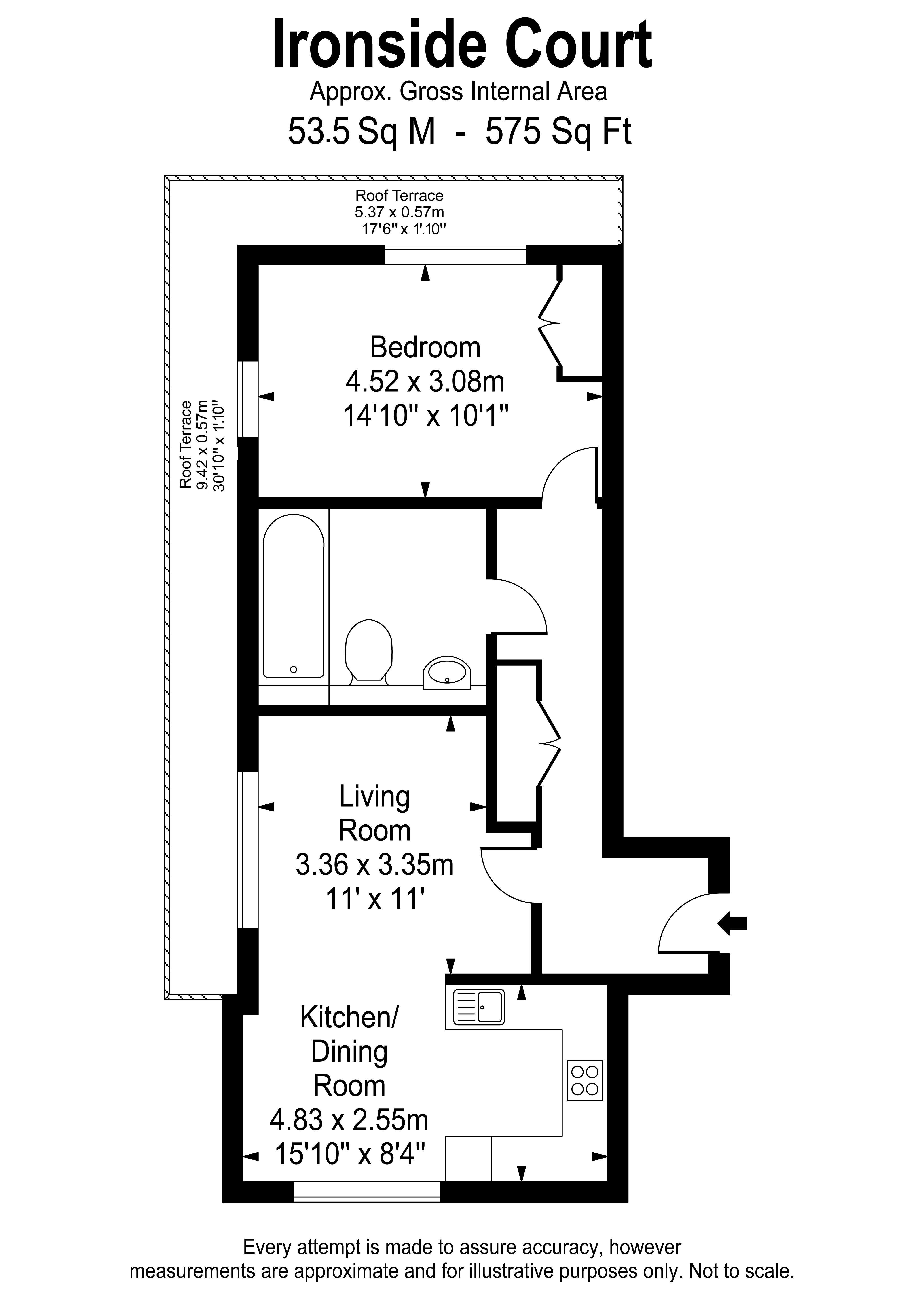 Floorplans For 8 Southcott Road, Teddington